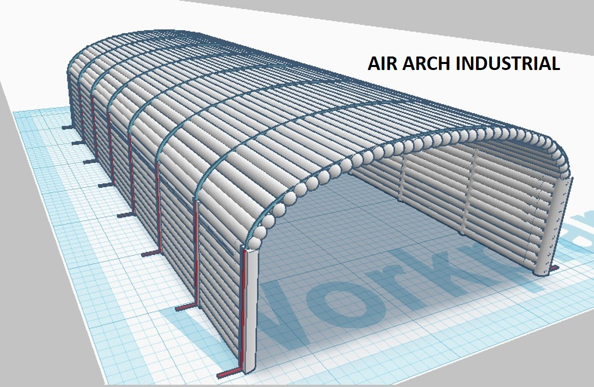 Splash Air Arch Industrial Inflatable Building