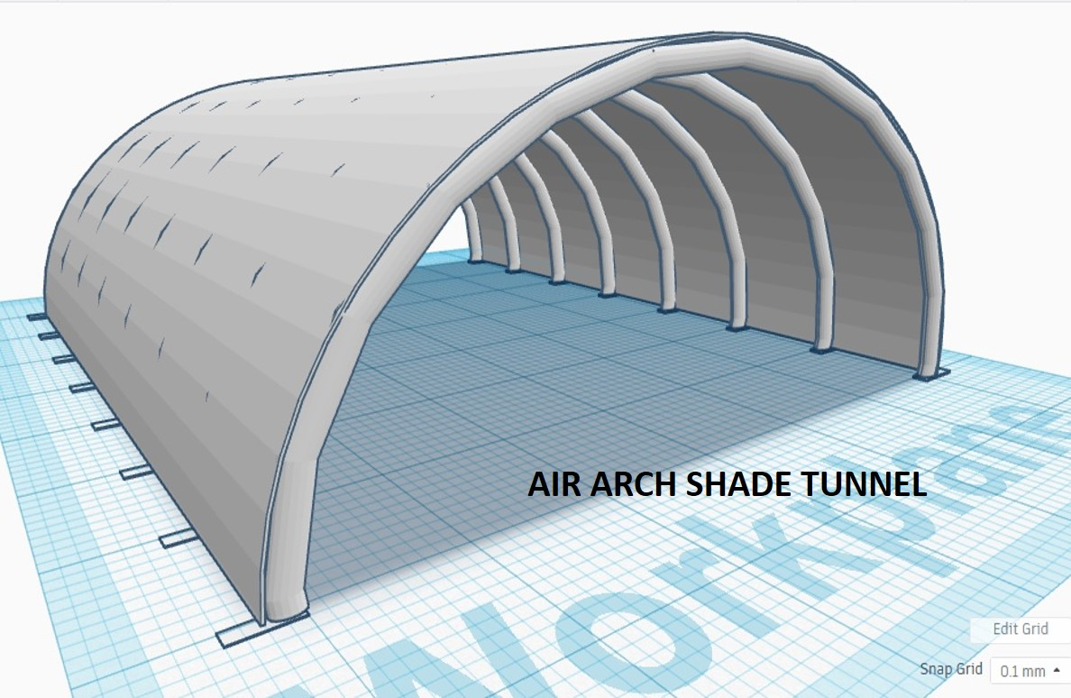 Air Arch Shade Tunnel